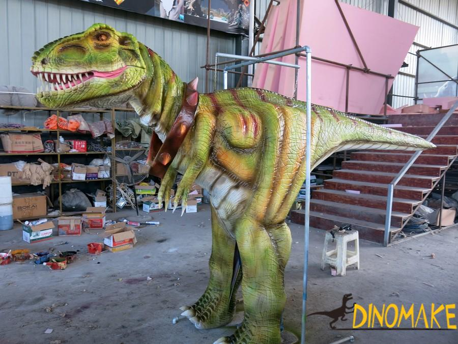 Walking dinosaur costumes in the Theme park high quality mechanical