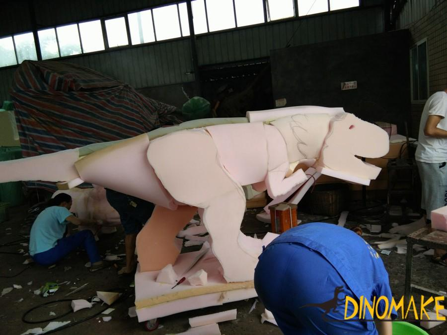 Walking dinosaur ride of sale