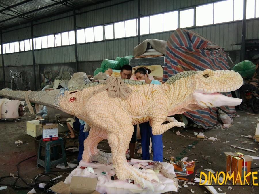 Walking dinosaur rides of sale