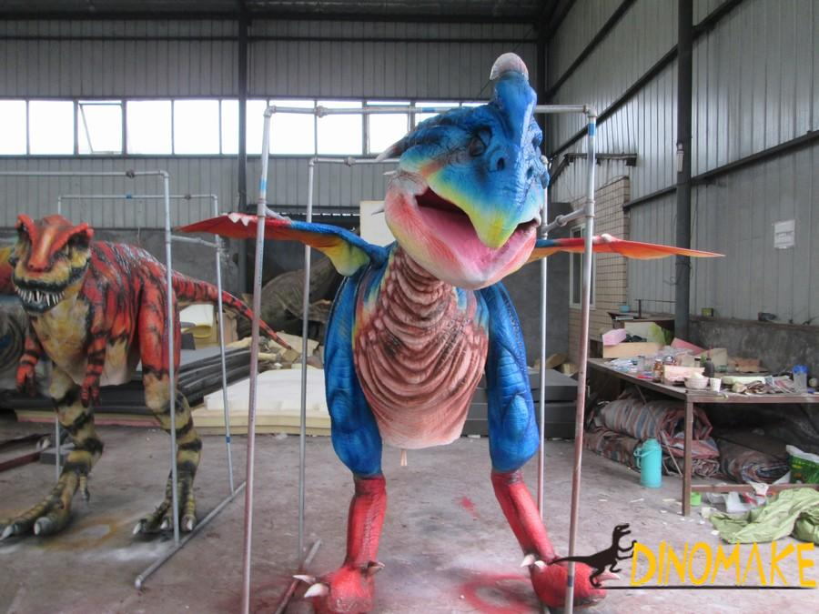 Walking realistic dinosaur costume for sale
