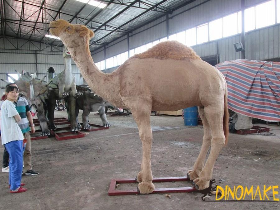 Zoo outdoor decoration custom Animatronic animal