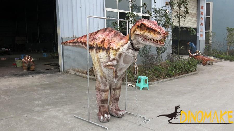 animatronic walking Dinosaur costume of high quality mechanical