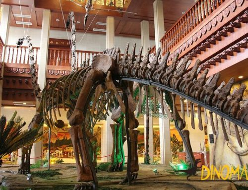 The best new animatronic dinosaur exhibit