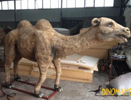 Zoo outdoor decoration custom Animatronic animal sculpture