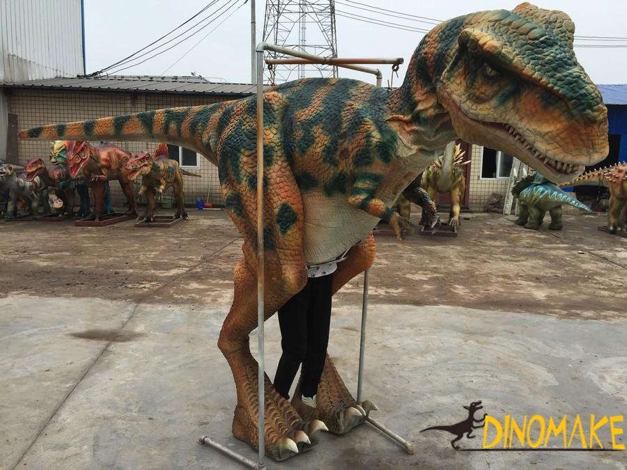 dinosaur costume are sold throughout the Halloween season