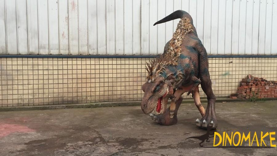 dinosaur costume is sold throughout the Halloween season