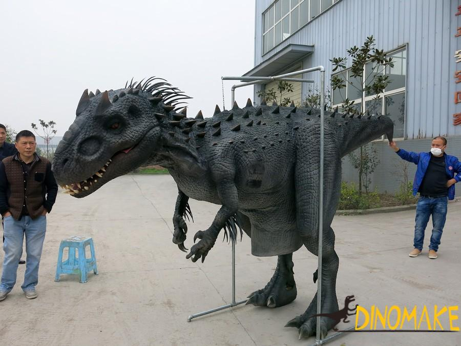 life-size Animatronic dinosaur Costume model of sale