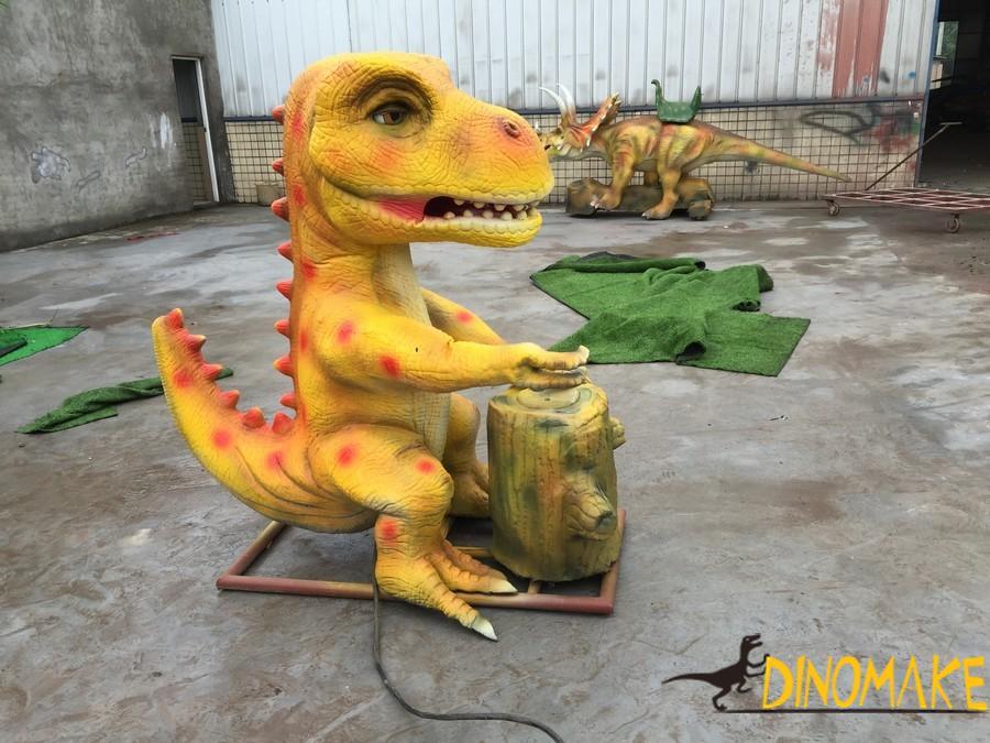 prehistoric Animatronic dinosaur biology exhibition opens