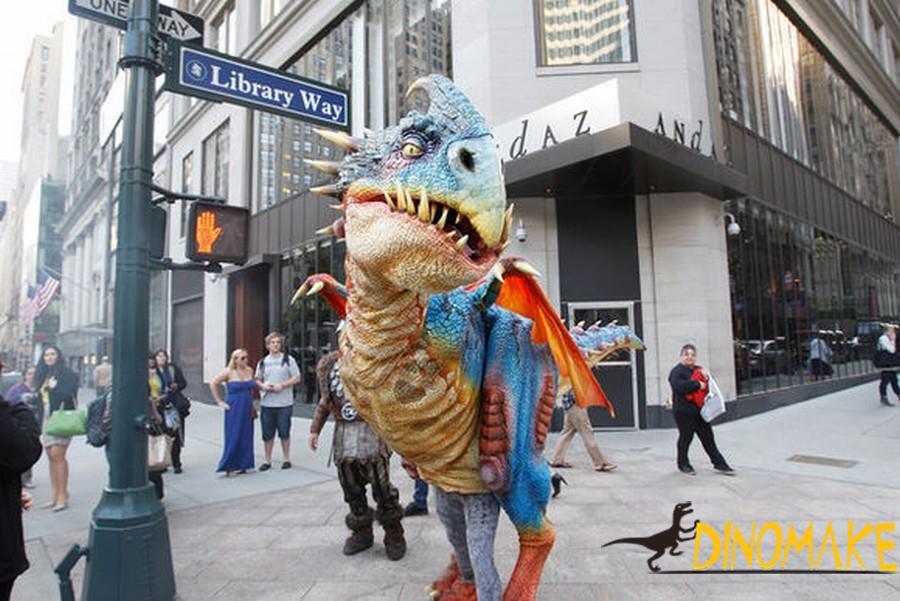 realistic Animatronic dinosaur costumes for sale