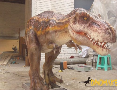 The Animatronic dinosaur of T-Rex model for sale