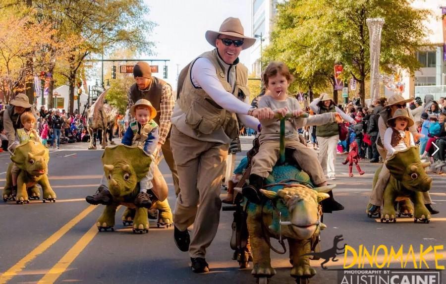 walking Animatronic dinosaur rides for sale