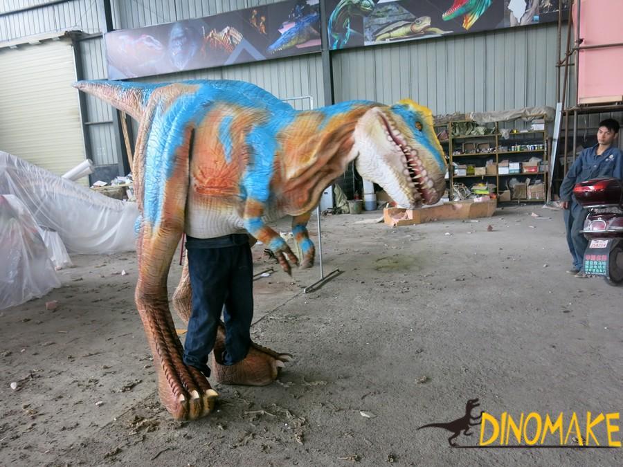 walking dinosaur costume in new materials
