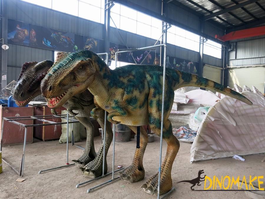walking dinosaur costumes in new materials
