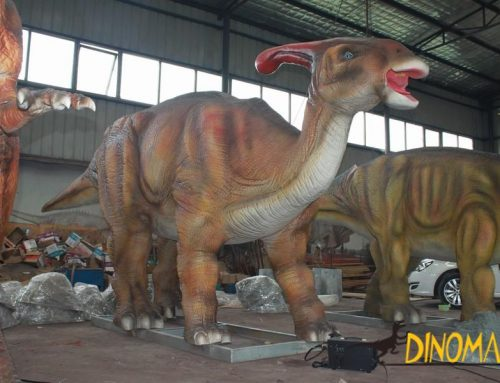 10 routines you did not know about the animatronic dinosaur exhibition industry