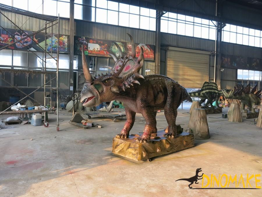 Animatronic Dinosaur Exhibition in the Hong Kong
