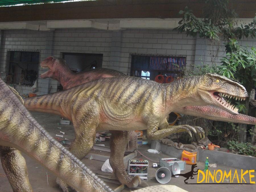Animatronic Dinosaur Exhibition to African Market