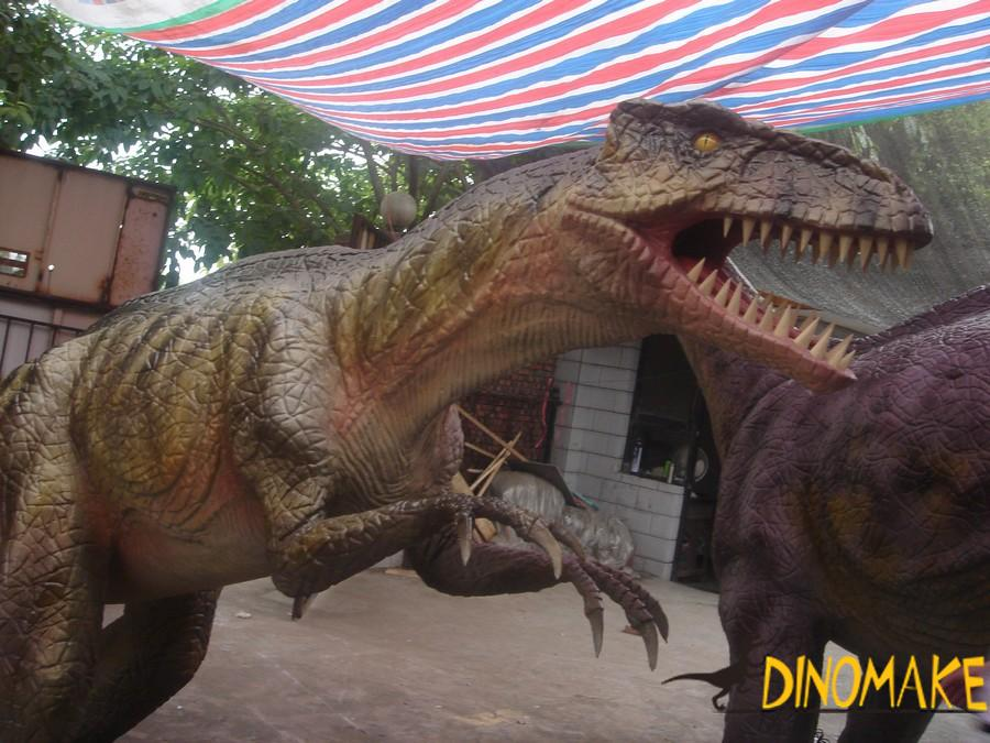 Animatronic Dinosaurs Exhibition Exports to African Market