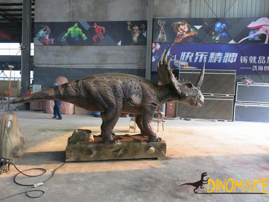 Animatronic Dinosaurs Exhibition in the Hong Kong
