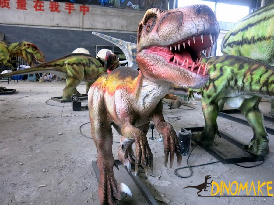 Animatronic Dinosaurs Exhibition in the UK