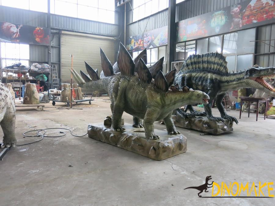 Animatronic Dinosaurs Making Materials