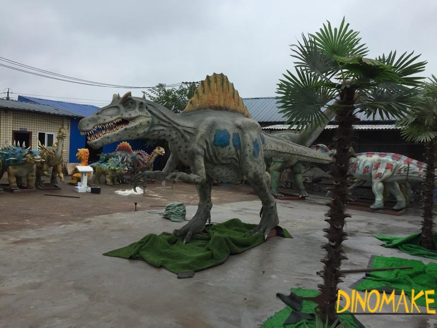 Animatronic dinosaur Spinosaurus