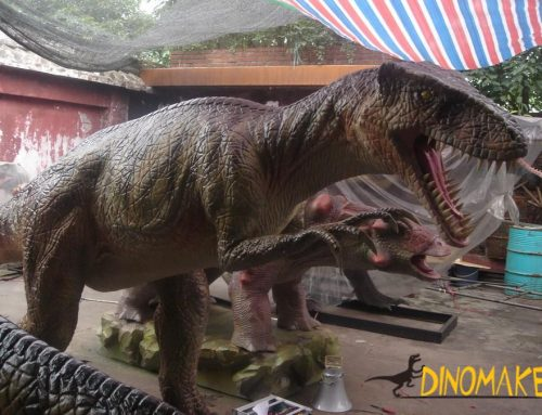 Large Animatronic dinosaur exhibition