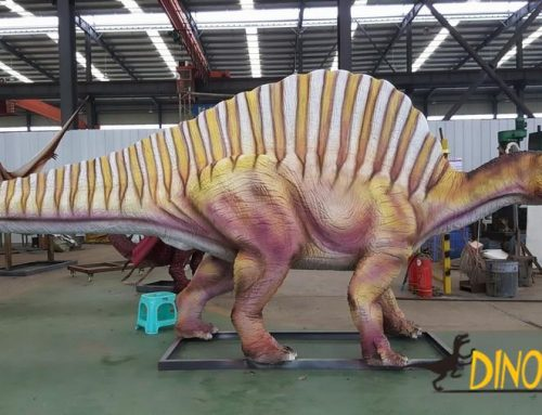 Large-scale Animatronic dinosaur exhibition in Martyrs Park