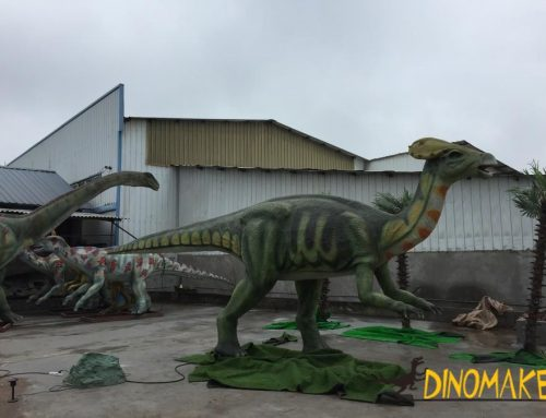 Animatronic dinosaur exhibition manufacturer dinosaur model for sale