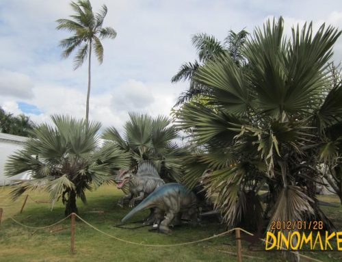 Good news for the Animatronic dinosaur exhibition market
