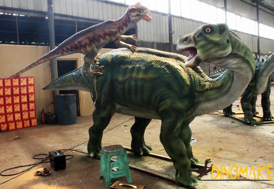 Animatronic dinosaur exhibition