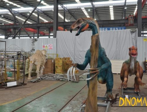 Animatronic dinosaur for sale exhibition market
