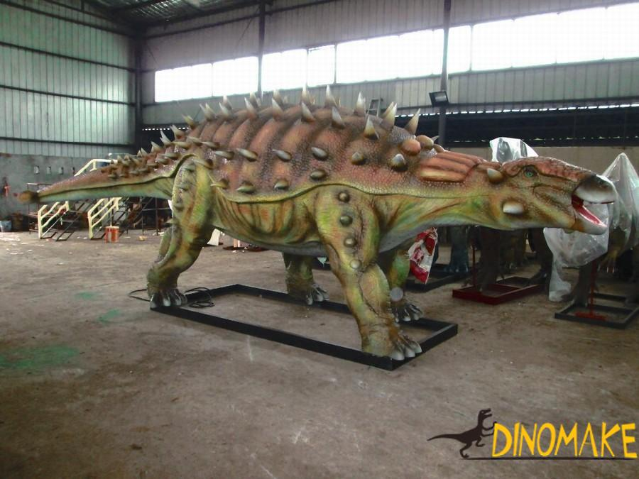 Animatronic dinosaur models rental process