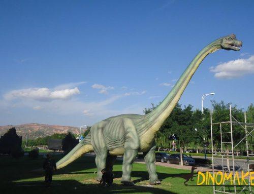Animatronic dinosaur of Brachiosaurus