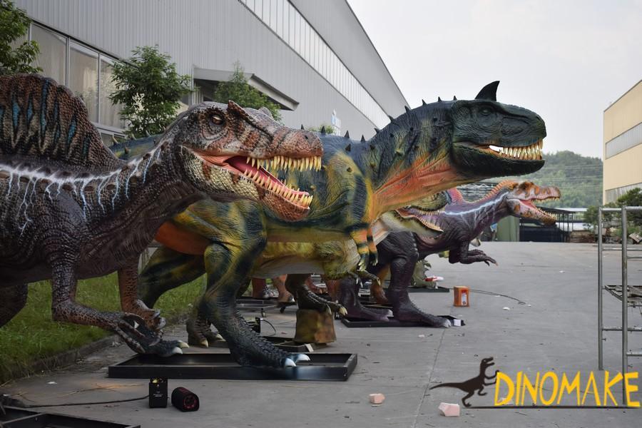 Animatronic dinosaur product-Carnotaurus