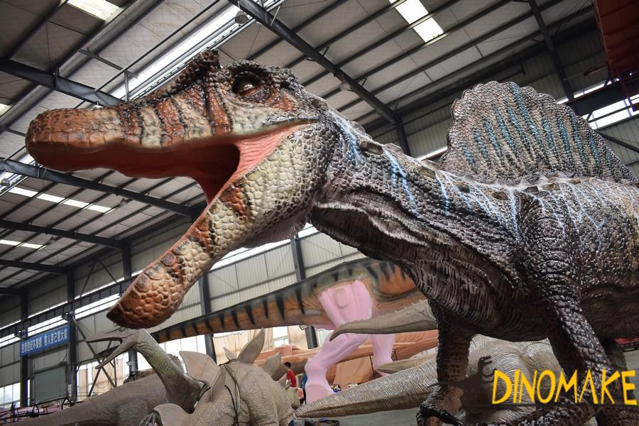 Animatronic dinosaur product T-rex