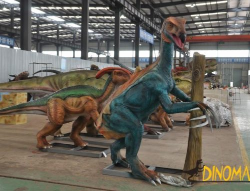 Animatronic dinosaur products enter Southeast Asia
