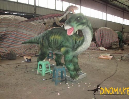 Animatronic dinosaur products in the late Jurassic