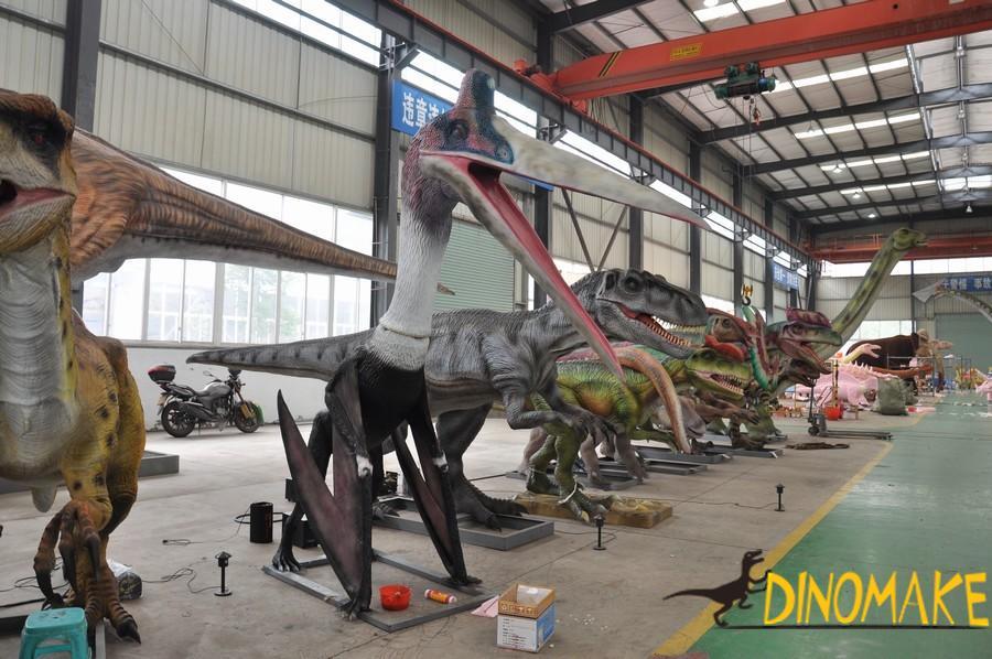 Animatronic dinosaur product pterosaur