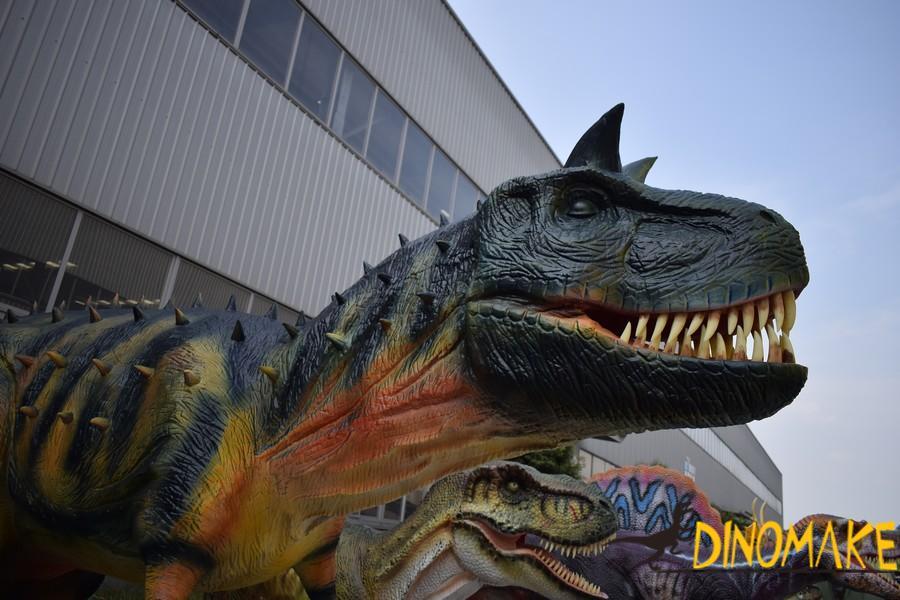Animatronic dinosaur products-Carnotaurus