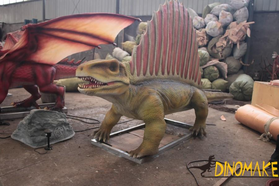 Animatronic dinosaur products for sale and transportation considerations