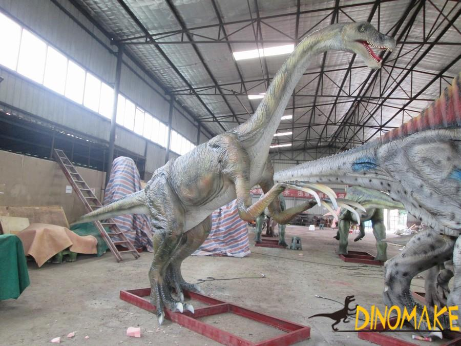Animatronic dinosaur products in the Southeast Asia