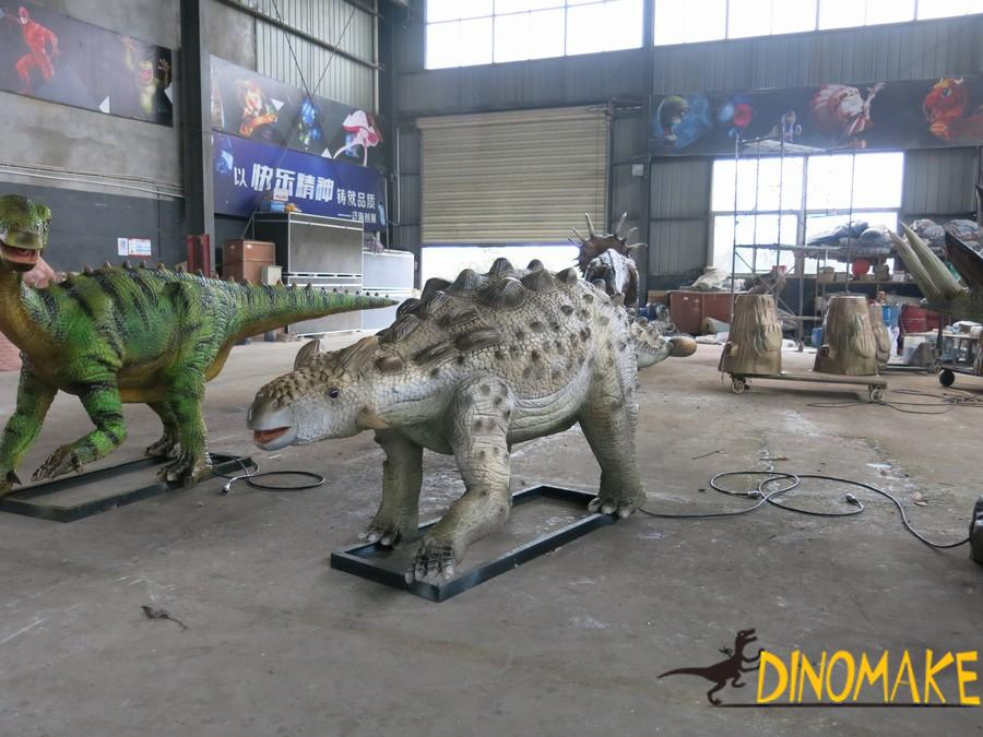 Animatronic dinosaur science exhibition