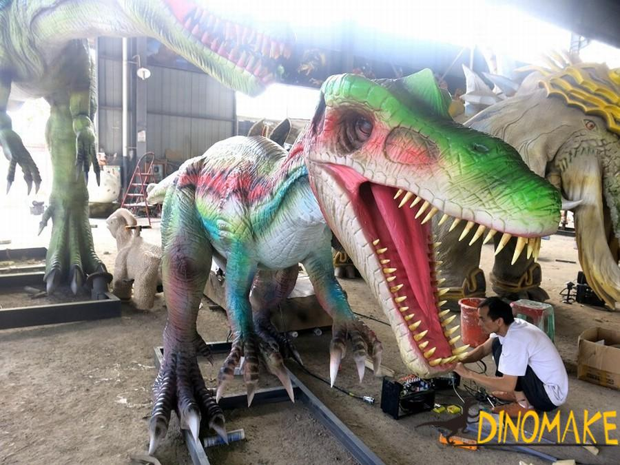 China Animatronic dinosaur product manufacturer