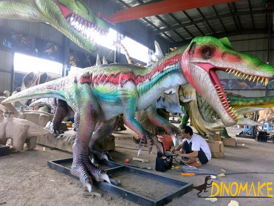 China Animatronic dinosaurs manufacturer