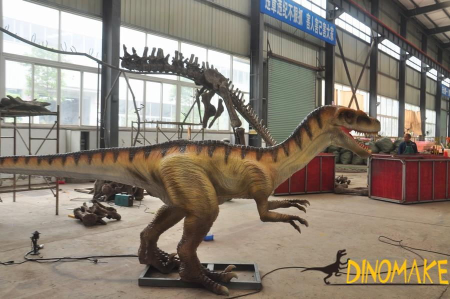 Continuous Animatronic dinosaur production