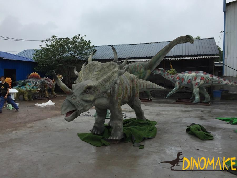 Development direction of foreign exhibitions-Animatronic dinosaurs