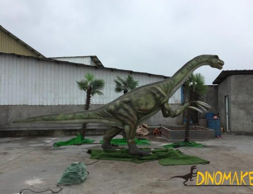Development history of Animatronic dinosaurs