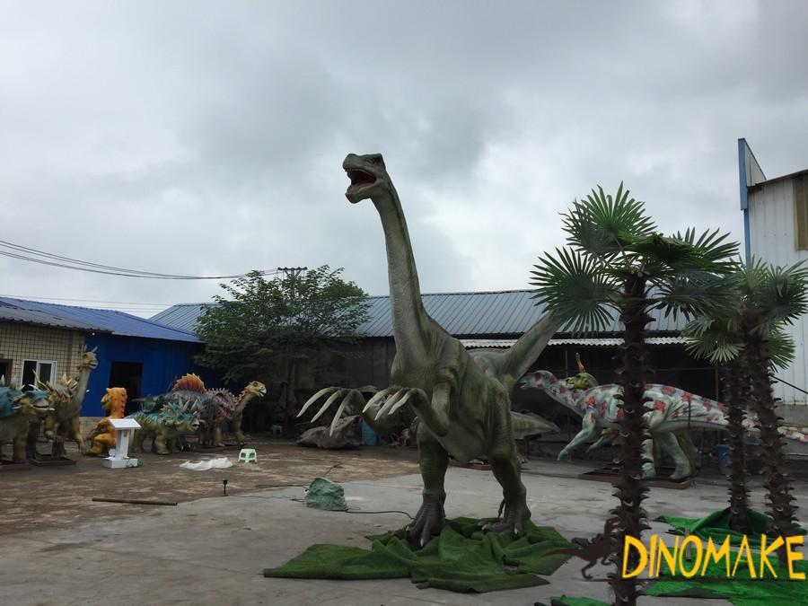 Development history of Animatronic dinosaur products