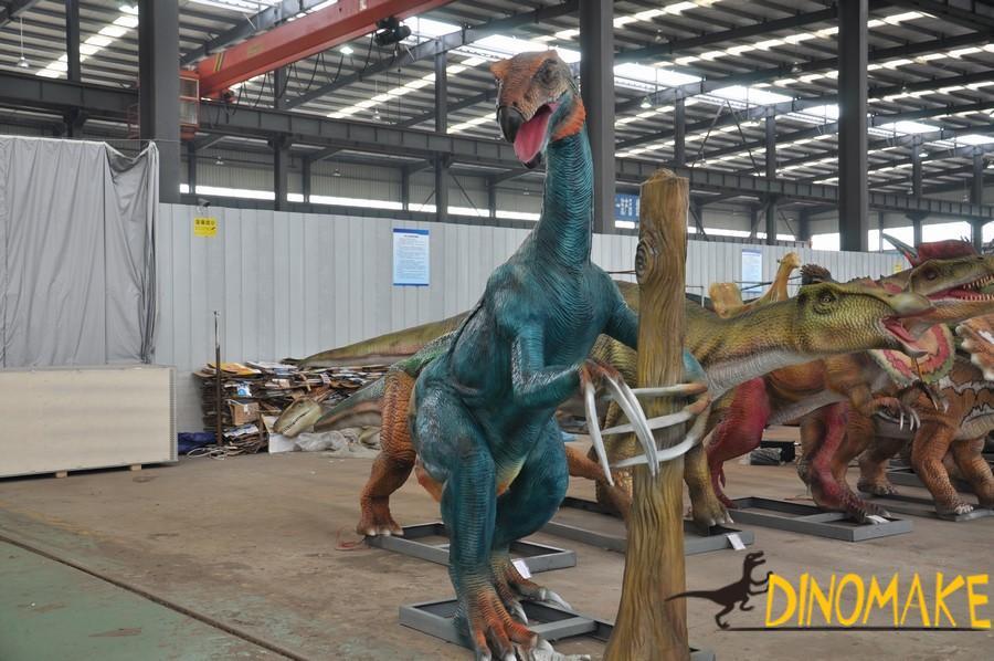 Development history of Animatronic dinosaur