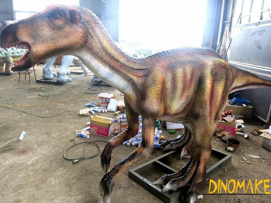 Development history of Animatronic dinosaurs